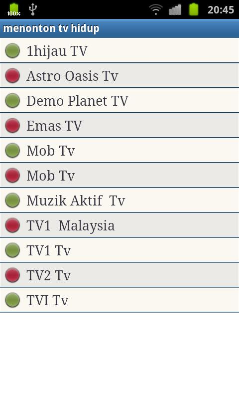 Malaysia TV Live watch - screenshot