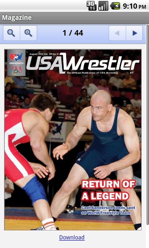 USA Wrestling - screenshot