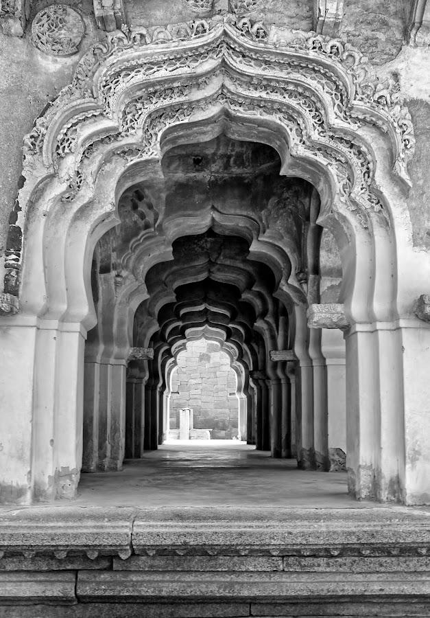 by Ramya Naidu - Black & White Buildings & Architecture