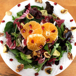 Festive Clementine and Avocado Salad.