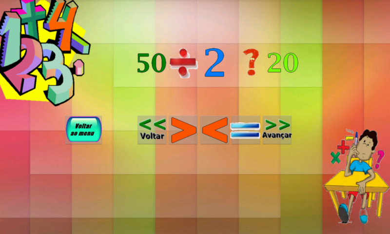 Matemática Divertida- screenshot