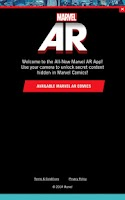 Screenshot of Marvel AR