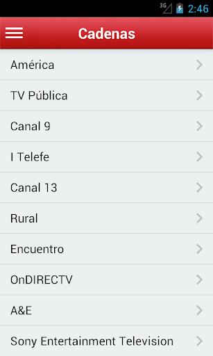 Televisión de Argentina Gratis