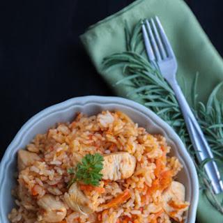 Ukrainian Chicken Plov (Rice Pilaf) - Плов.