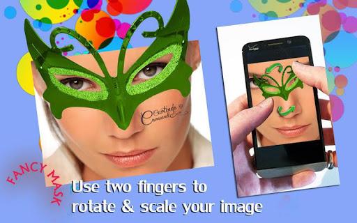 Fancy Mask Photo Stickers