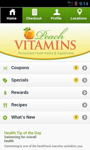 Peach Vitamins