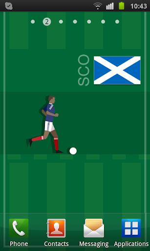 Scotland Soccer LWP
