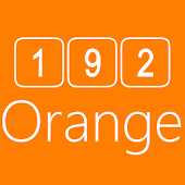 192C Orange Icon Pack
