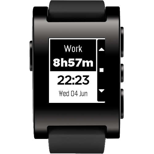 Time Balance for Pebble