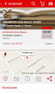 la Feltrinelli mobile - screenshot thumbnail