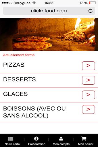 Au four à pizza