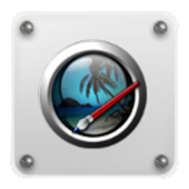 Drop on Glass C Launcher Theme