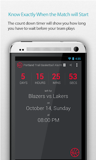 Portland Basketball Alarm