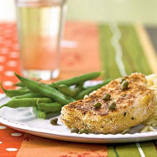 Pork with Lemon-Caper Sauce