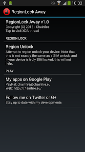 [root] RegionLock Away - screenshot thumbnail
