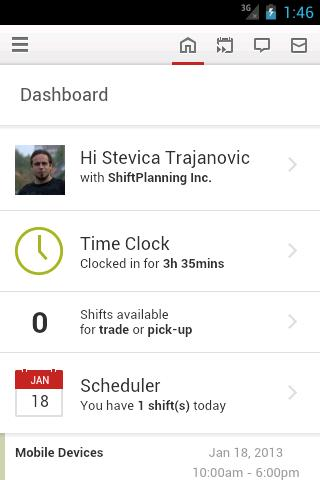 ShiftPlanning- screenshot