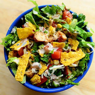 Chicken Taco Salad.