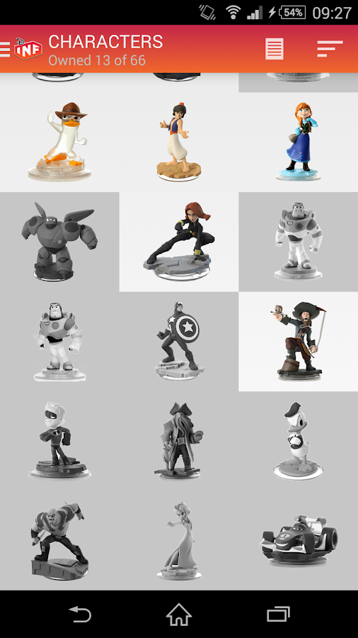 My Disney Infinity Collec Pro Android Apps On Google Play