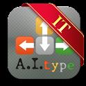 A.I.type Italian Predictionary logo