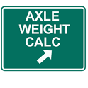 Trucker's Axle Weight Calc icon