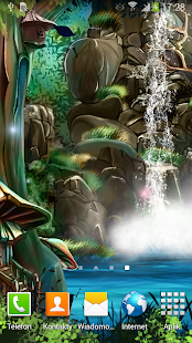 3D Waterfall Live Wallpaper FR - screenshot thumbnail