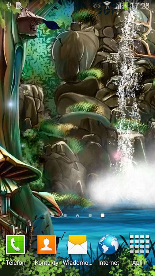 3d waterfall live wallpaper android apps on google play for Decor live beautiful app