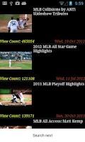 Screenshot of Baseball News 2015
