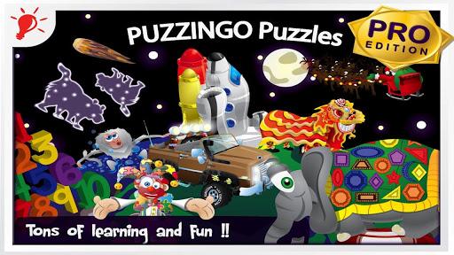 幼兒教育拼圖遊戲 Puzzingo 中英雙語 專業版