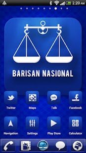 Barisan Nasional Theme - screenshot thumbnail