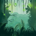 Into the Jungle Live Wallpaper logo