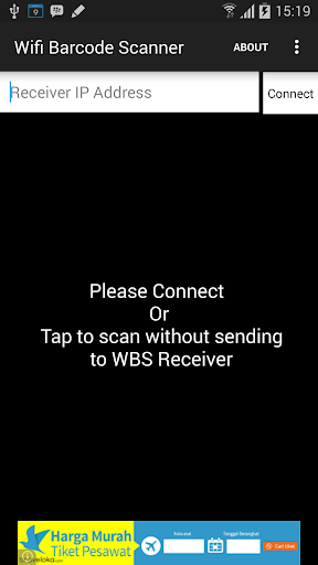 WiFi Barcode Scanner