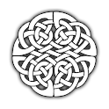Celtic Knot Clock Widget icon