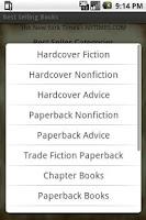 Screenshot of Best Selling Books