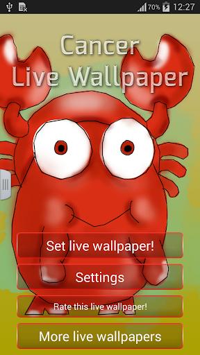 玩免費個人化APP|下載癌症动态壁纸 app不用錢|硬是要APP