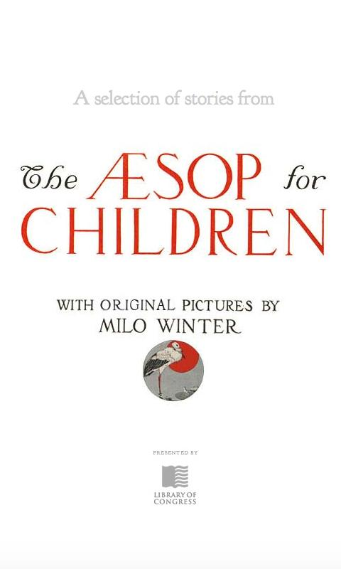 Aesop For Children- screenshot