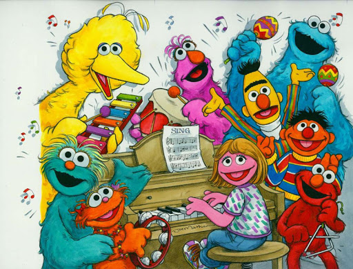 Tube Of Sesame street Free