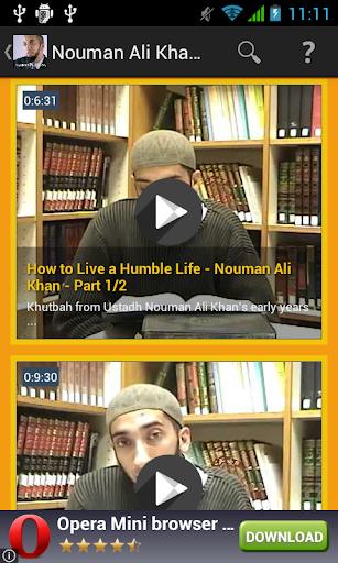 Nouman Ali Khan Video