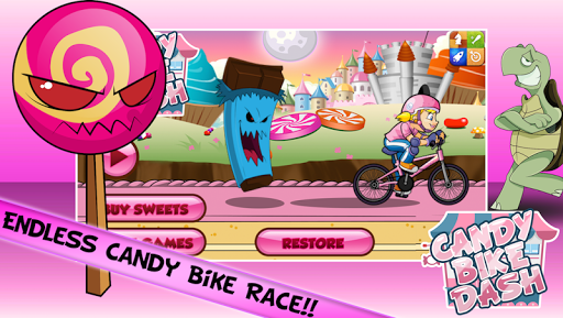 Candy Bike Dash
