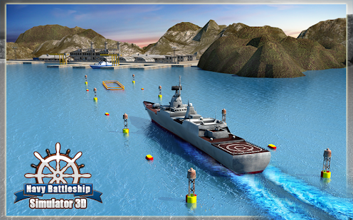 Navy Battleship Simulator 3D