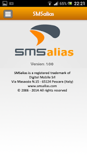 SMSalias- screenshot thumbnail