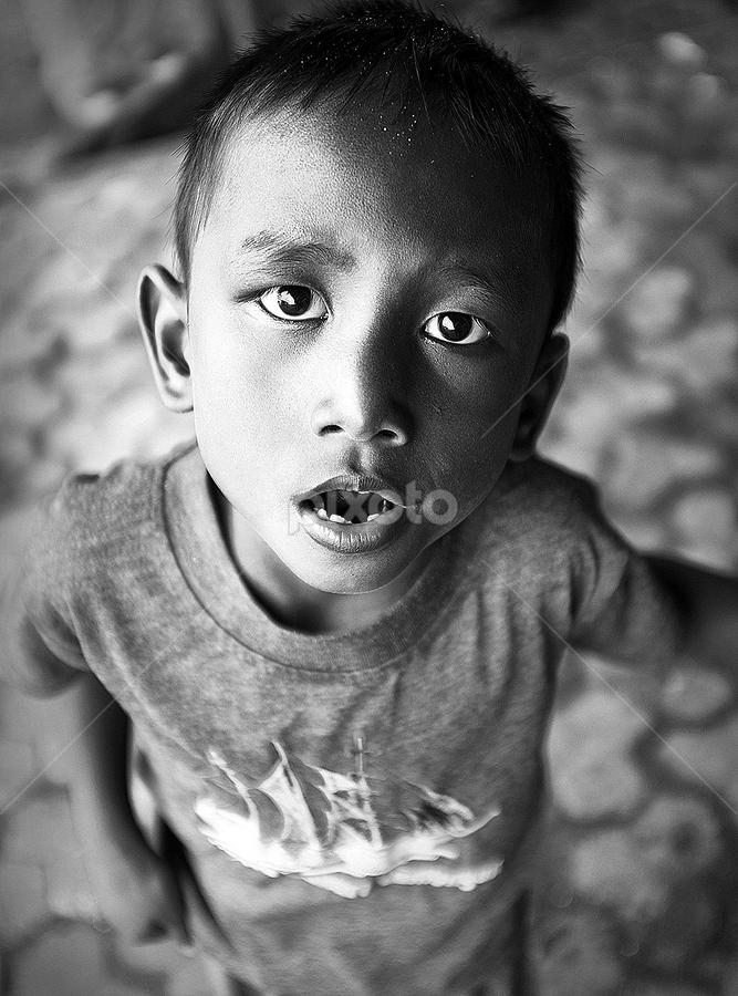 by Herry Wibowo - Black & White Portraits & People (  )