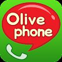 올리브폰(OlivePhone) – 무료통화 logo