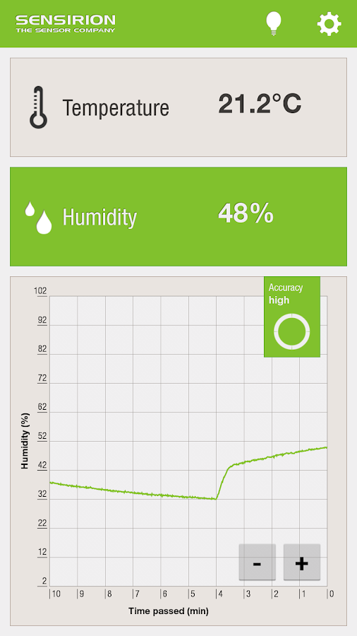 Ambient Temperature & Humidity- screenshot