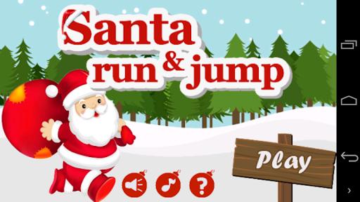 Santa Run and Jump
