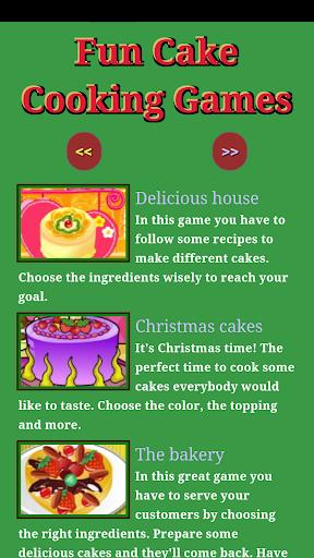 Fun Cake Cooking games