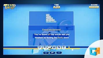Screenshot of TextTwist 2 LITE