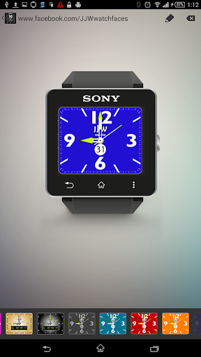 JJW Excite Watchface 6 for SW2
