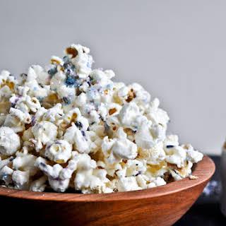 White Chocolate Lavender Vanilla Popcorn.