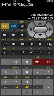 HF Scientific Calculator Pro - screenshot thumbnail