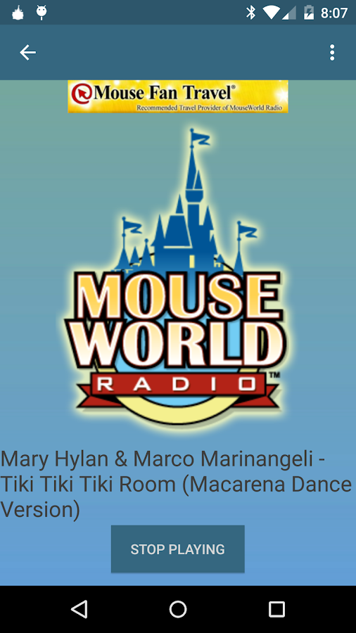 MouseWorld Radio- screenshot